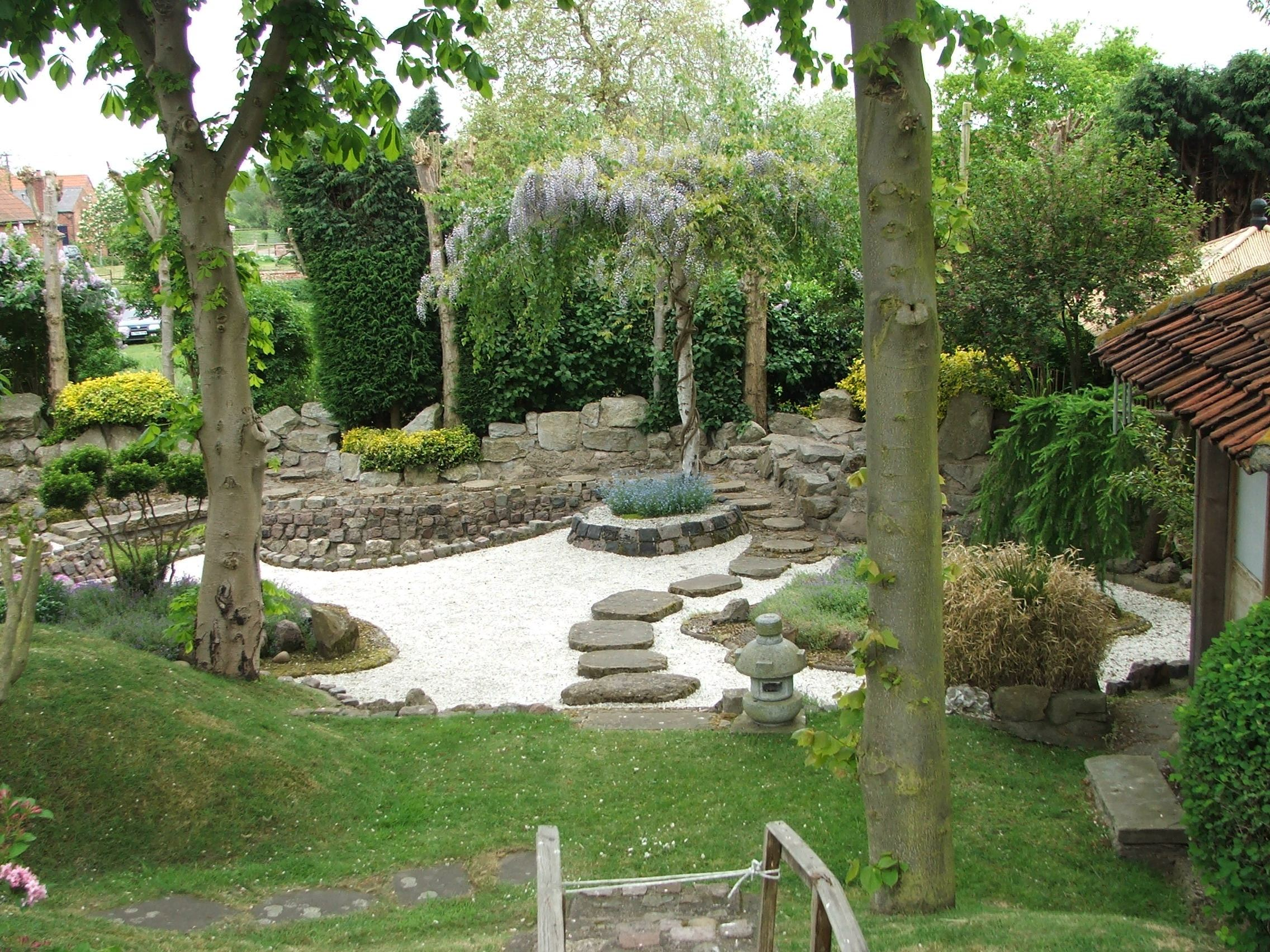 Japanese garden design pictures modern home exteriors for Japanese garden backyard designs