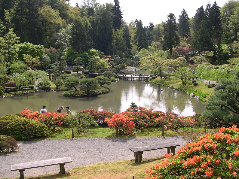 My japanese garden of the week seattle u s a